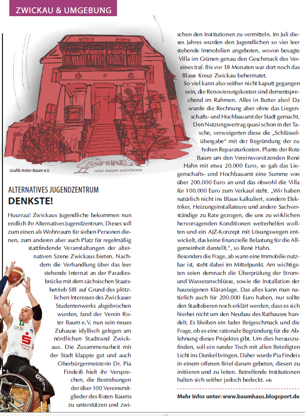Stadtmagazin Kompass vom Dezember 2010